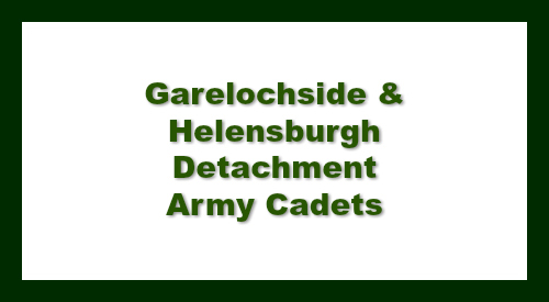 Garelochside and Helensburgh Detachment Army Cadets