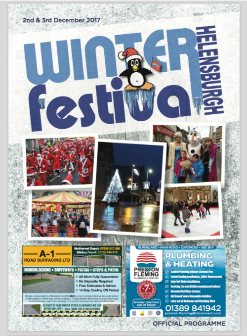 Helensburgh WInter Festival 2017 - Whats On Programme