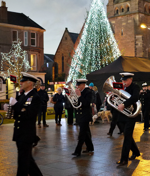 Helensburgh WInter Festival 2017 - Whats On - HMS Neptune Volunteer Band