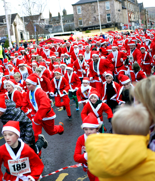 Helensburgh WInter Festival 2017 - Whats On - Santa Dash