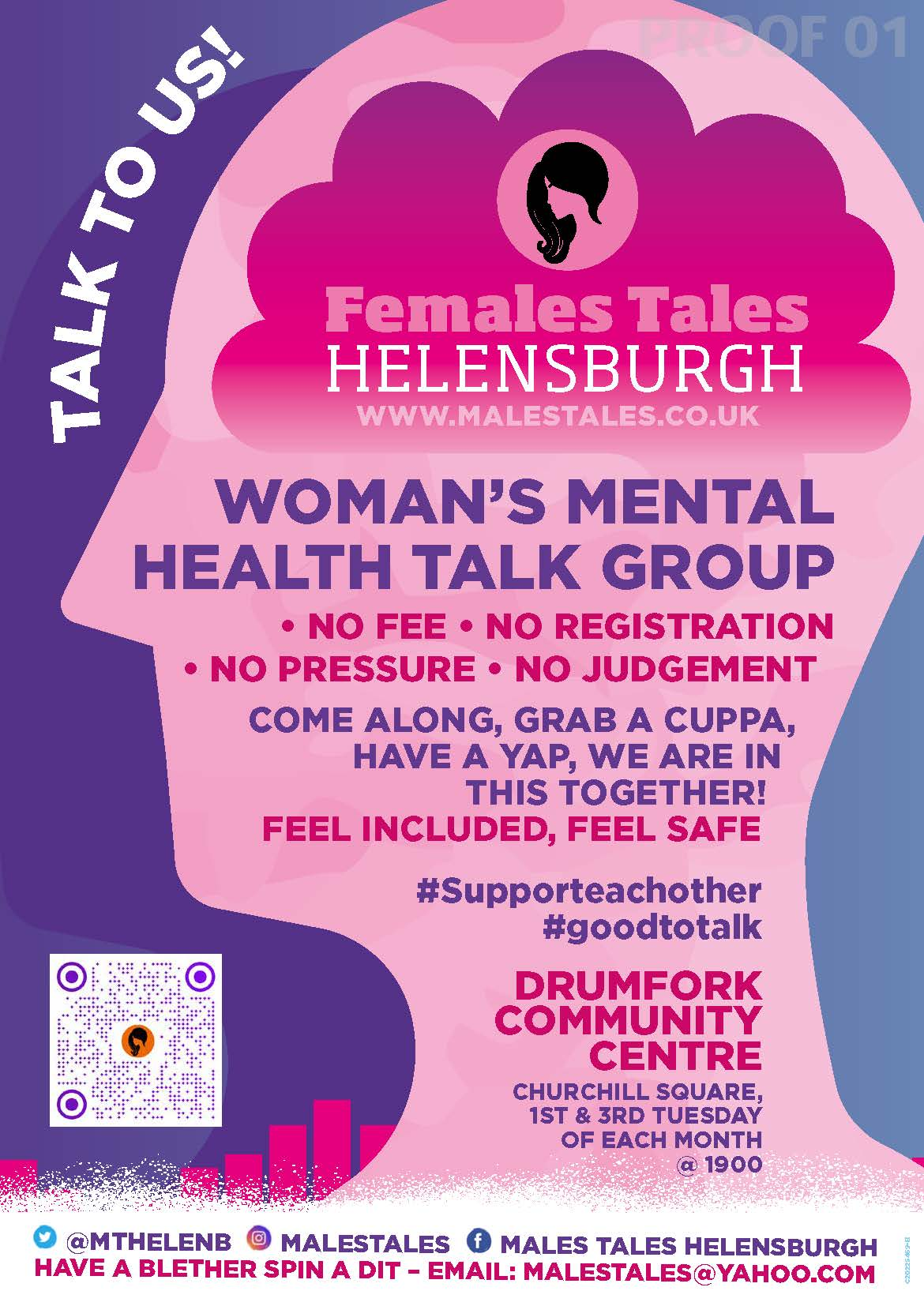 Download the FeMales Tales Flyer