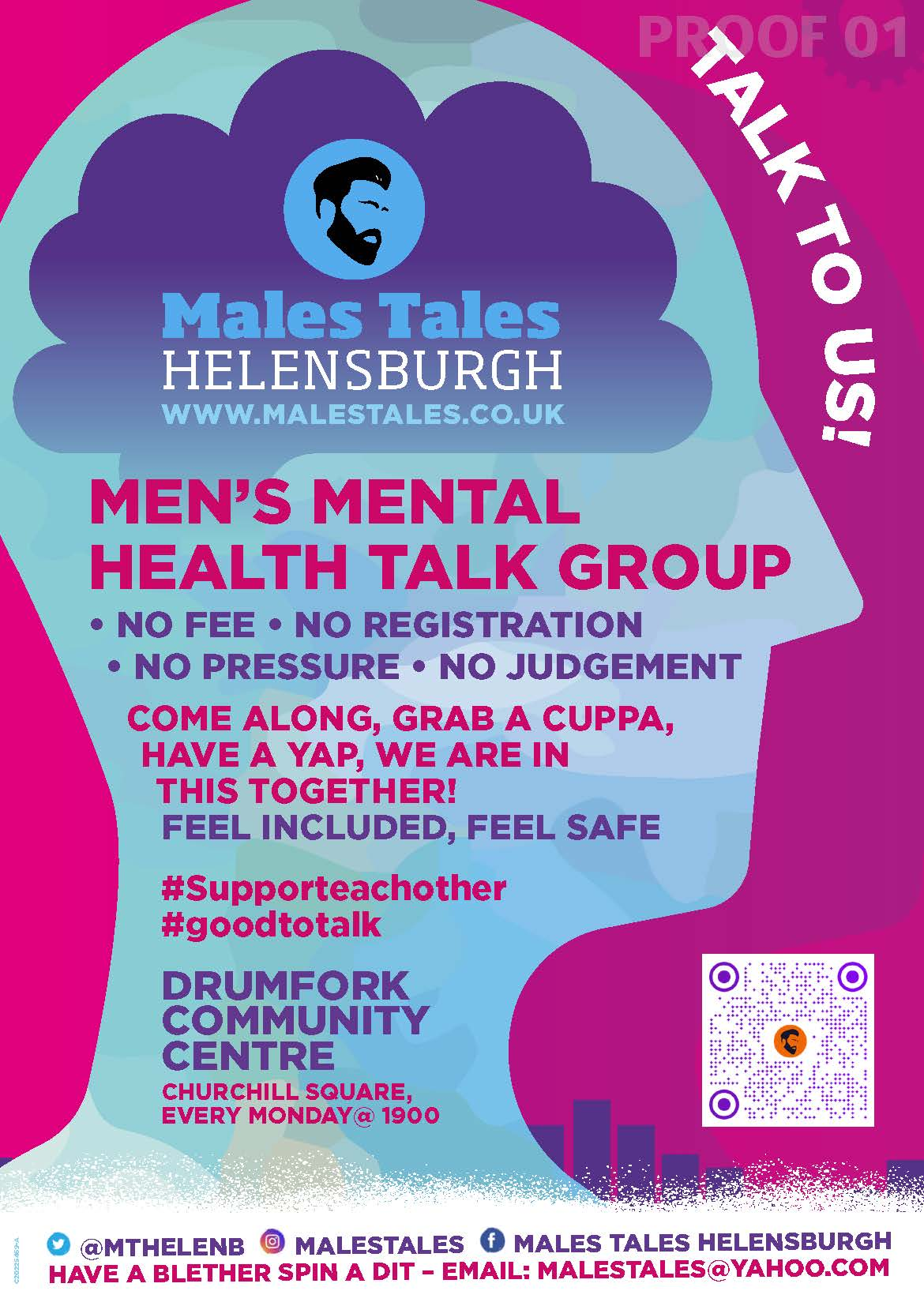 Download the Males Tales Flyer